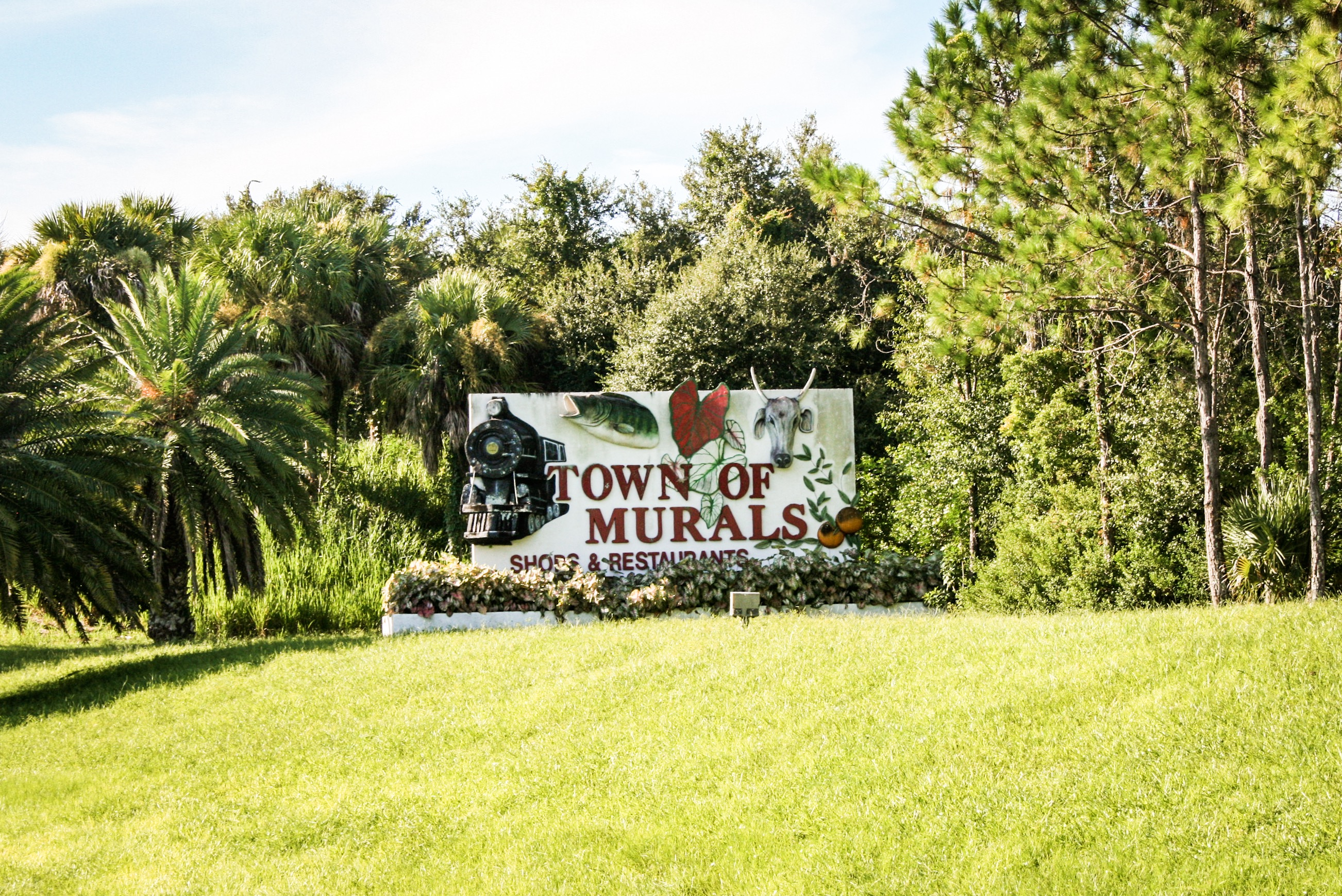 Town of Murals Lake Placid Florida